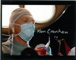 Kenneth Cranham, Dr Channard HELLRAISER 10X8 Genuine Autograph 11147